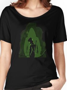 Green shadow Women's Relaxed Fit T-Shirt