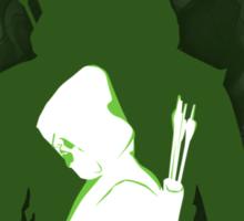 Green shadow Sticker