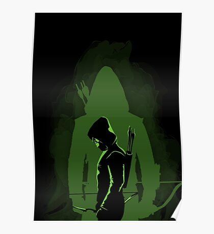 Green shadow Poster