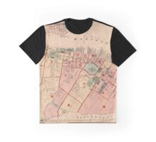 Map of Halifax 1878 Graphic T-Shirt