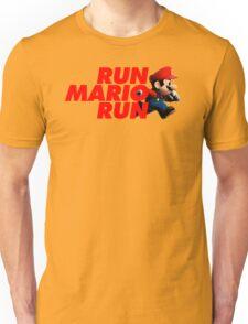 Super Mario - Run Mario Run - Clean Unisex T-Shirt