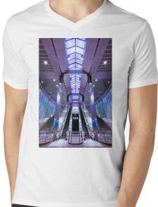 Onward and Upward Mens V-Neck T-Shirt
