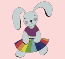 Save the Day - Bunny Friend One Piece - Short Sleeve