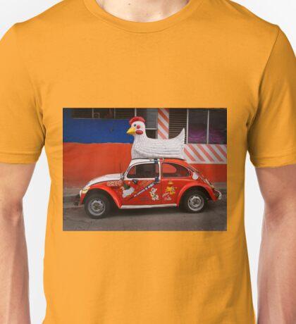 Cowboy Chicken Unisex T-Shirt