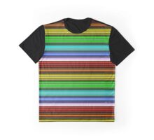 Striped Batons Graphic T-Shirt