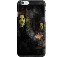 The reflection of her tortured dreams iPhone Case/Skin