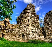 Pendragon Castle Walls by Tom Gomez