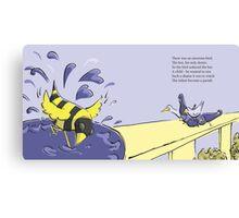 Beebird Misfit Canvas Print
