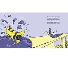 Beebird Misfit Photographic Print