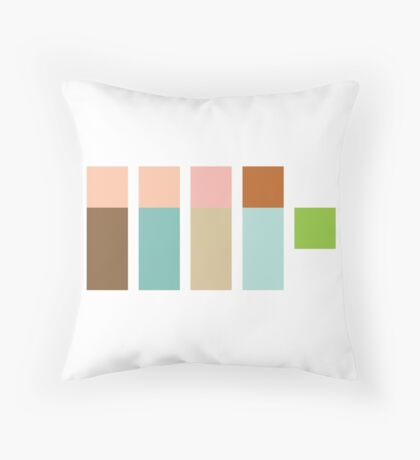 The Real Ghostpixels Throw Pillow