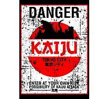 DANGER KAIJU poster Photographic Print