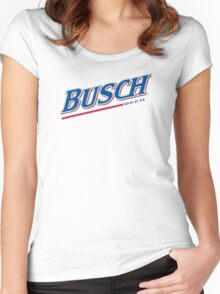 Busch Beer Women's Fitted Scoop T-Shirt