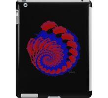 Fractal reds blues 101416 iPad Case/Skin