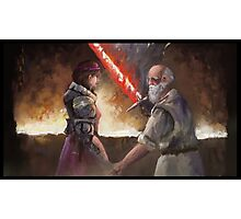 My Dear you Shall Have a Sword Worthy Gods and Men Alike Photographic Print