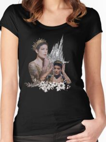halsey - castle Women's Fitted Scoop T-Shirt