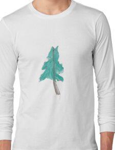 Watercolor Tree  Long Sleeve T-Shirt
