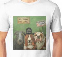 Dogs On Strike Unisex T-Shirt