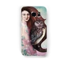 She and her Owl Samsung Galaxy Case/Skin