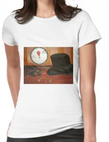 'Punked Out Womens Fitted T-Shirt