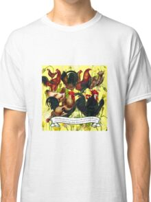 Gazing at Victorian Chickens 4 Classic T-Shirt