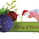 Merry Christmas from Charlie the Galah by Deborah McGrath