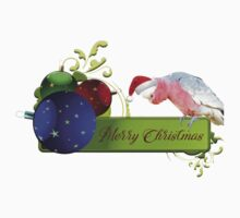 Merry Christmas from Charlie the Galah One Piece - Short Sleeve