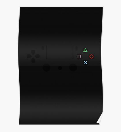 Playstation Controller Poster! Poster