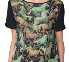 Ninjas+Unicorns Chiffon Top
