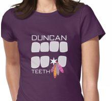 Duncan Teeth - Alternative Womens Fitted T-Shirt