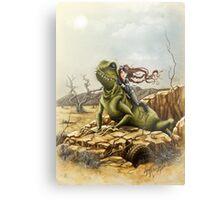 Lizard King Metal Print