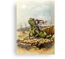 Lizard King Canvas Print