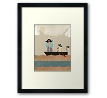 we are pirates Framed Print