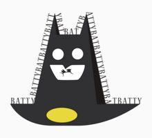 Batty Batty Bat vector art Kids Clothes