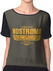 Alien Nostromo logo Chiffon Top