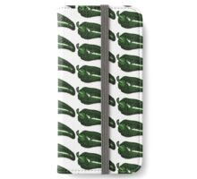 Green Pepper iPhone Wallet/Case/Skin