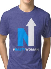 Nasty Woman Arrow Tri-blend T-Shirt