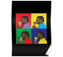 Kanye West Ice Cream Poster