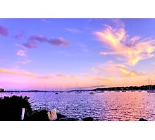 Sunset In Pink & Purple Photographic Print
