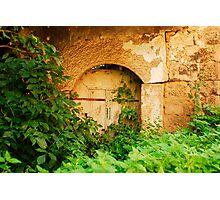 Derelict Building in Jajce Photographic Print