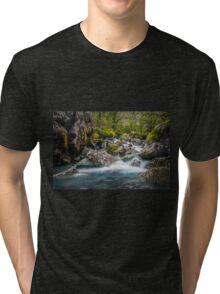 Upper Hollyford river Tri-blend T-Shirt