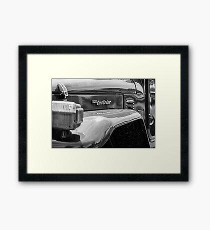 Land Cruiser - TRA0169 Framed Print