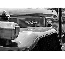 Land Cruiser - TRA0169 Photographic Print