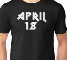 "April 18th ""AS Day"" Unisex T-Shirt"
