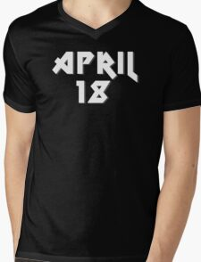 "April 18th ""AS Day"" Mens V-Neck T-Shirt"