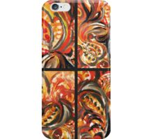 Floral Quartet Abstract  iPhone Case/Skin