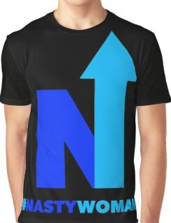 Nasty Woman vote blue Graphic T-Shirt