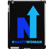 Nasty Woman vote blue iPad Case/Skin