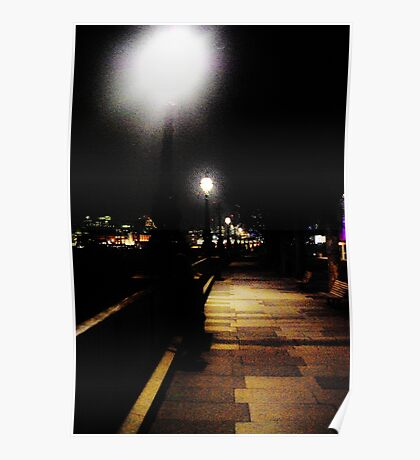 London Night Poster
