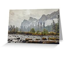 Rivers and Roads Greeting Card