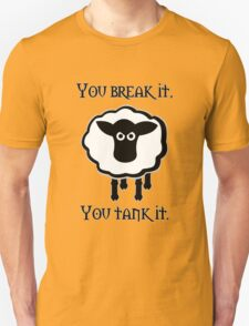 You Tank It - sheep (clean) Unisex T-Shirt